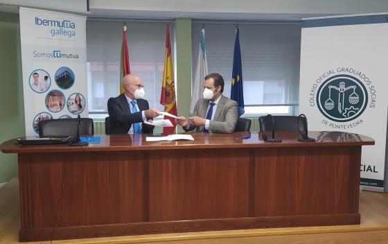 Firma de acuerdo de colaboración con Ibermutua Gallega