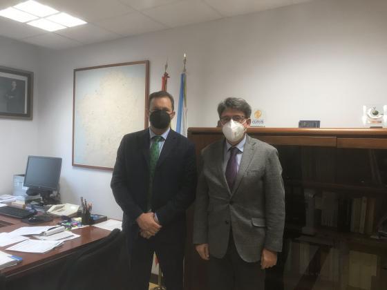 Reunión Dirección Xeral Xustiza