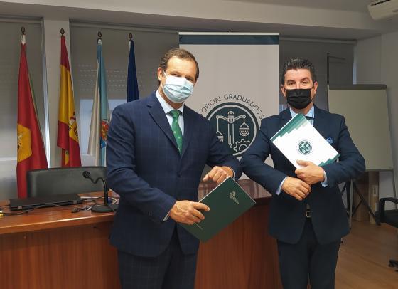 Sinatura do convenio de colaboración con Editorial Xurídica SEPÍN