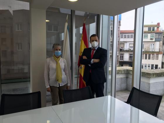 Reunión con la dirección provincial del SEPE de Pontevedra