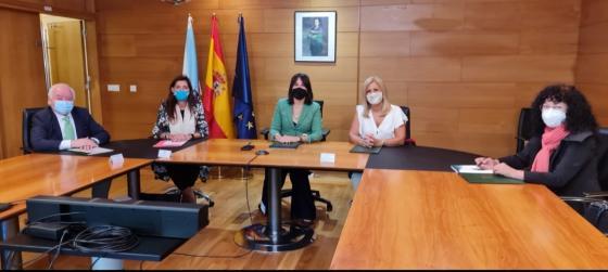 Firma Convenio Colaboración coa Consellería de Emprego e Igualdade da Xunta de Galicia