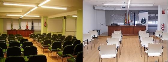 Renovación Sala de Conferencias de la Sede Colegial
