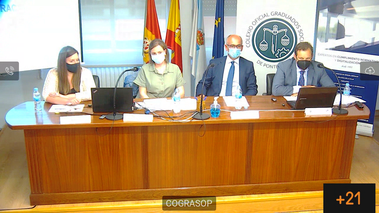 """Jornada """"Novedades en la legislación laboral en materia de igualdad"""". Colabora Grupo Isonor"""