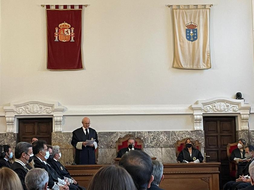 Apertura Año Judicial en Galicia